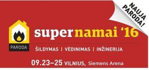 Paroda SuperNamai 2016 ŠILDYMAS