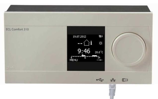 Elektroniniai valdikliai šildymui, karštam vandeniui (ŠVOK)