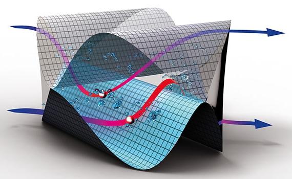 Danfoss MPHE fishbone pattern illu Micro plate