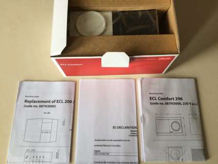 ECL Comfort 296 komplektacija