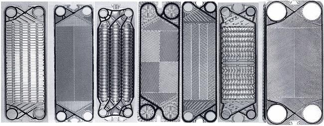 MCD-PHE gaskets tarpinės