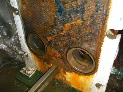 Metalų korozija šilumokaičiuose