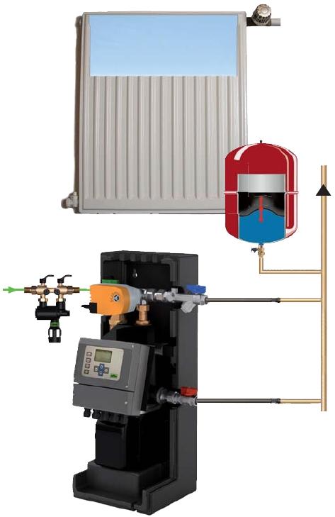 Servistek ST30 šildymo sistemos nuorinimas